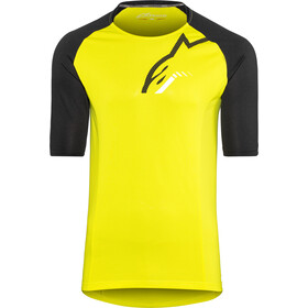 Alpinestars Trailstar Lyhythihainen Jersey Miehet, acid yellow/black
